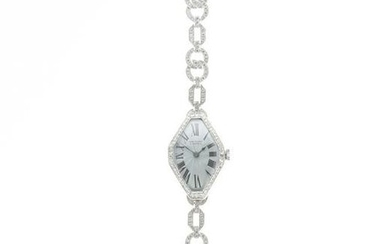 A Van Cleef & Arpels diamond wristwatch