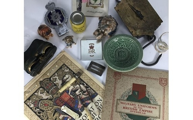 A mixed lot of collectables including Salter's Spring Balanc...