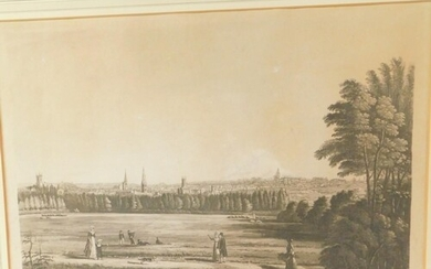 After George Tytler (British 1798-1859). A View of Stamford...