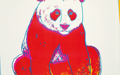 Andy Warhol, Giant Panda, from Endangered Species (F & S. 295)