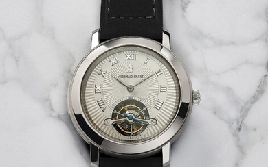 Audemars Piguet, Ref. 26072TI.OO.D002CR.01 An extremely rare, complicated and unusual titanium minute repeating wristwatch with tourbillon regulator, Certificate and box, number 10 of a 10 pieces limited edition