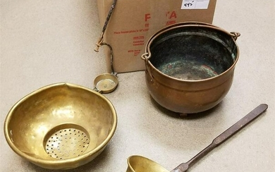 BX COPPER AND BRASS ITEMS