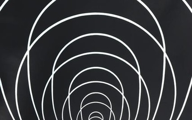 Clarence Holbrook Carter, Concentric Space (Silver)