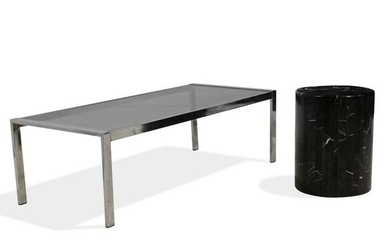 Coffee Table and Pedestal