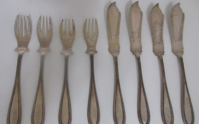 Cutlery set - .800 silver - Germany - Early 20th century