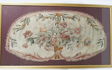 FRAMED 19TH-CENTURY AUBUSSON TAPESTRY