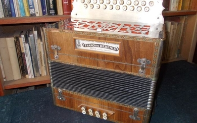 Francois Dedenis - Diatonic button accordion - France - 1931
