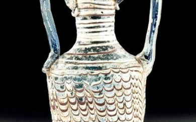 Greek Hellenistic Core-Form Glass Amphoriskos