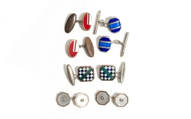 LOT OF VINTAGE CUFFLINKS
