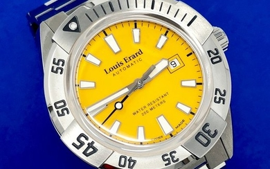 """Louis Erard - Automatic Diver Sportive Collection Stainless Steel Swiss Made - 69107AA08.BMA29 """"NO RESERVE PRICE"""" - Men - Brand New"""