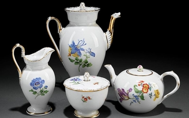 Meissen Porcelain Coffee and Tea Service