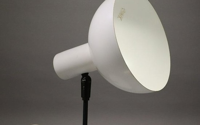 Mid-Century Modern White Table or Wall Mount Lamp
