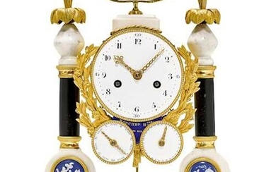 PORTAL CLOCK WITH DAY AND DATE
