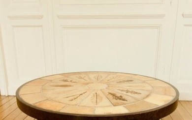 Roger Capron - Coffee table - Autumn Leaves