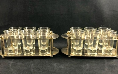 Silver Plated Shot Glassware Set IGC21