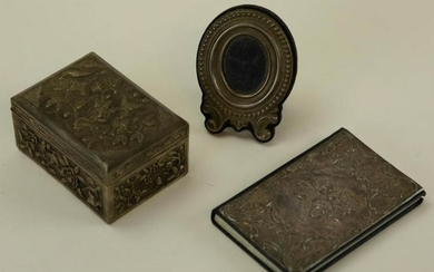 Sterling Silver & Silver Plate Decorative Items