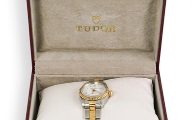 Tudor Princess Date Two Tone Ladies Watch