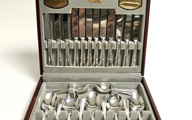Viners Silversmiths Sheffield - Cutlery - Neoclassical - Silverplate