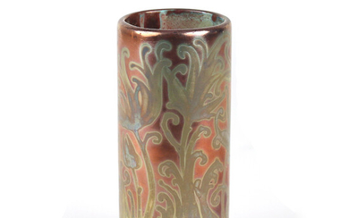 WELLER SICARD ART GLASS VASE