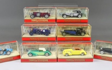 """A Collection of """"Models of Yesteryear"""" Diecast Model Vehicles,..."""