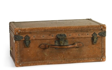 A French leather travelling case by Goyard of Paris, early 20th century