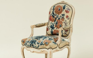 A Louis XV fauteuil, France, 18th century