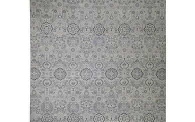Agra All Over Design Pure Wool Hand-Knotted Oriental