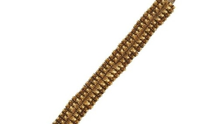 An early 20th century Indian gold bracelet,...