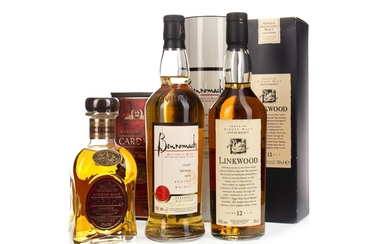 BENROMACH, LINKWOOD 12 YEARS OLD FLORA &