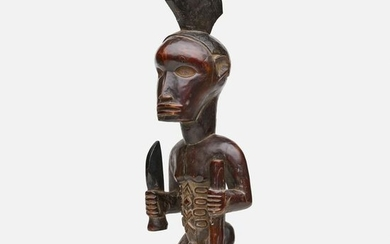 Bembe artist, carved figure