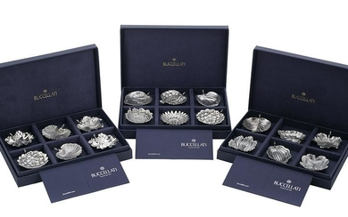 Buccellati Sterling Silver Place Card Holders
