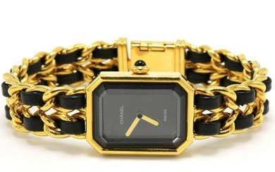 "Chanel Gold Plate ""Premiere"" Ladies Watch"