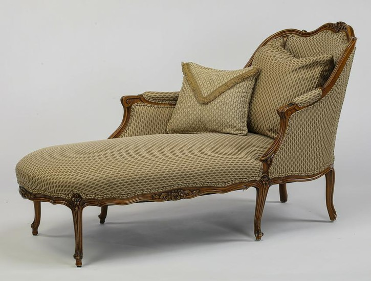 Lot Art French Provincial Style Chaise Longue 61 L