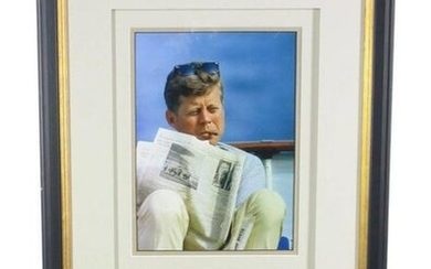 John F. Kennedy's Personally Owned Cigar, Handsomely