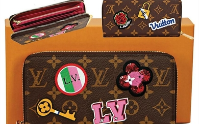 LOUIS VUITTON purse, model: Zippy Monogram Canvas, with