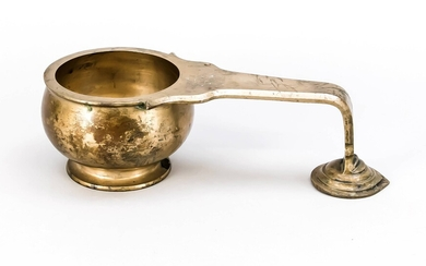 Large ritual ladle, India, 20th century, bronze with...