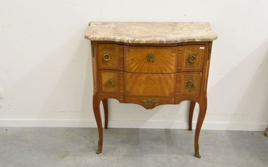 Louis XVI style transition chest of drawers in...