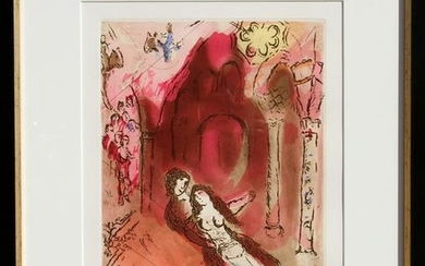 Marc Chagall, Granada, Aquatint Etching (Restrike)