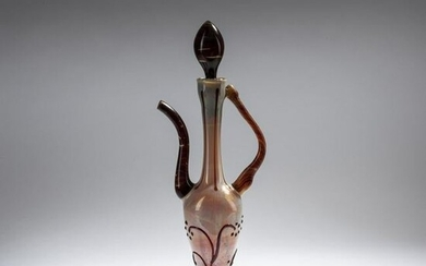 Murano, Jug with stopper, c. 1940