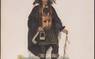 Okee-Maakee-Quid, A Chippeway Chief