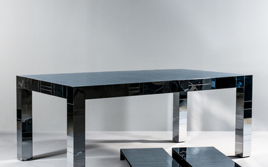 "Paul Evans for Directional ""Cityscape"" Dining Table"