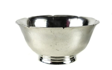 Porter Blanchard Sterling Silver Footed Bowl, c1940