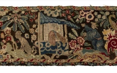 Tapestry. A Chinoiserie tapestry panel, circa 1720s