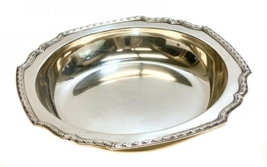 Tiffany & Co. Sterling Silver Square Edge Bowl #785