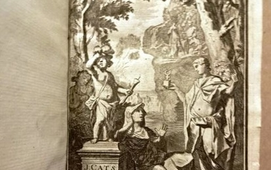 1779 Beautiful Illustrated Works Jacob Cats