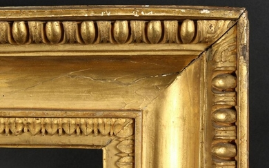 18th Century Hollow Frame with Egg and Dart Moulding.