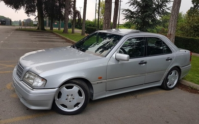 1995 MERCEDES-BENZ C36 AMG REGISTRATION NO: M359 ODA