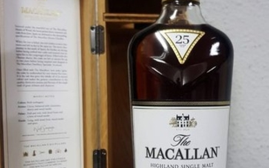Macallan 25 years old sherry oak 2019 - Original bottling - 700ml