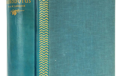 Nonesuch Press.- Herodotus.The History..., one of 675 copies, original blue-stained vellum-backed cloth, Nonesuch Press, 1935.