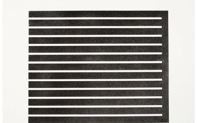 65047: Donald Judd (1928-1994) Untitled, 1980 Aquatint